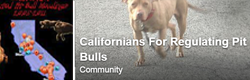 Californians for Regulating Pit Bulls